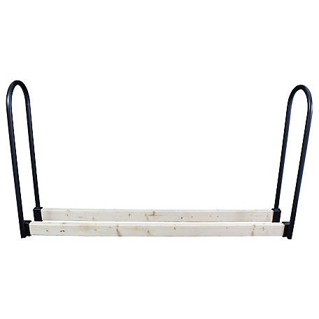 HomComfort Adjustable Log Rack with Steel Uprights, HCLRA