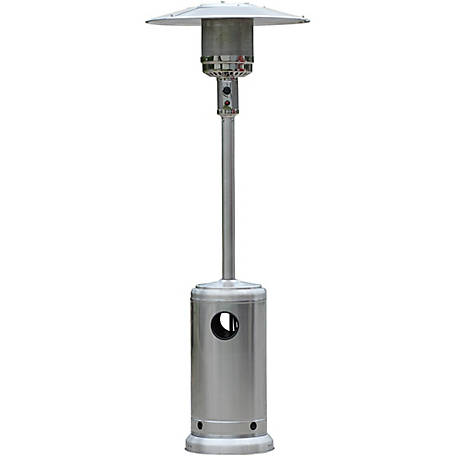 HomComfort Stainless Steel Patio Heater LP, HCPHPRSS At Tractor Supply Co.