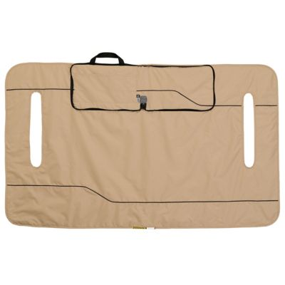Classic Accessories Fairway Golf Cart Seat Blanket/Cover; Light Khaki