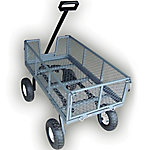 Yard Tuff 3-in-1 Side Dump Wagon 20 in. x 38 in.