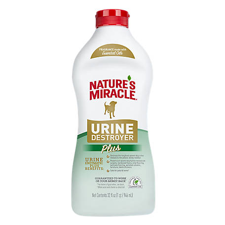 Nature's Miracle Urine Destroyer, 32 oz. Measure and Pour, P-96999