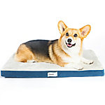 Simmons Beautyrest Thera Bed Orthopedic Memory Foam Dog Bed and Kennel/Crate Mat