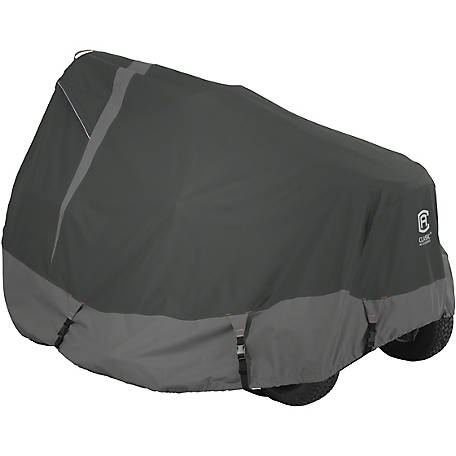 Classic Accessories Heavy-Duty Tractor Cover, Medium, Grey