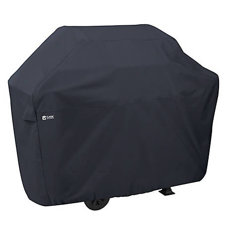 Classic Accessories Patio BBQ Grill Cover, Large, Black, 55-307-040401-00