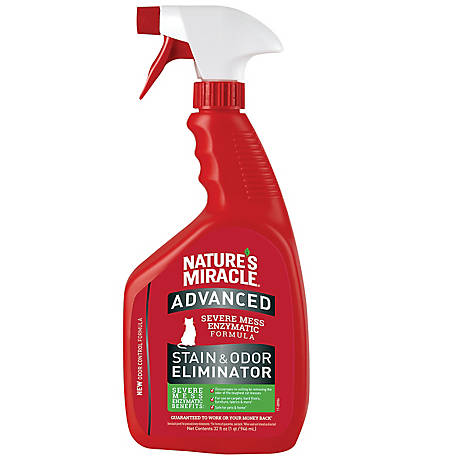 Nature's Miracle Advanced Cat Stain and Odor Eliminator, 32 oz. Spray