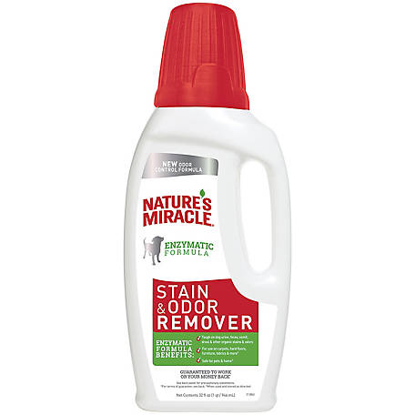 Nature's Miracle Stain and Odor Remover, 32 oz. Measure and Pour
