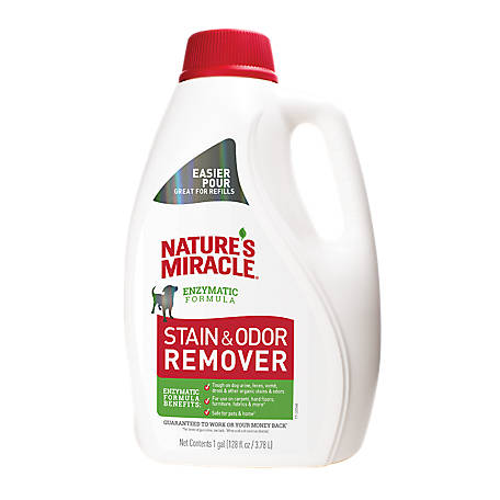 Nature's Miracle Stain and Odor Remover, gal., P-98151