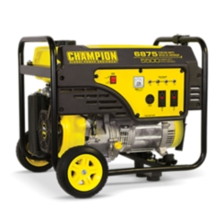 Shop Champion Power Equipment 5500-Watt Portable Generator with Wheel Kit at Tractor Supply Co.