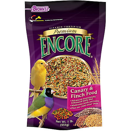 Encore Premium Canary & Finch Food, 51112