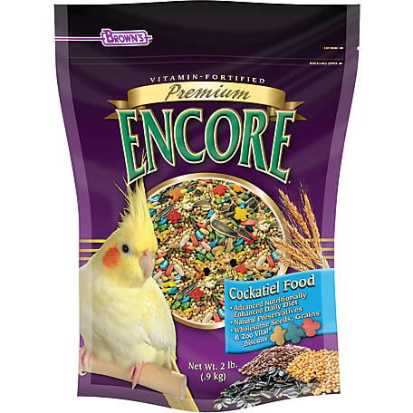 Encore Premium Cockatiel Food, 44319