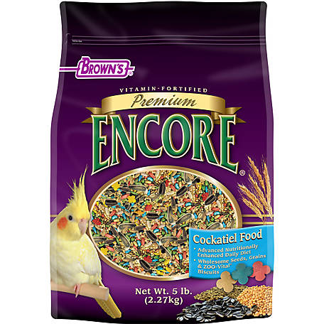 Encore Premium Cockatiel Food, 51126