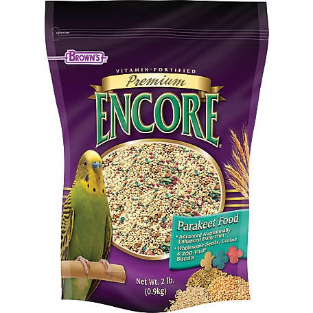 Encore Premium Parakeet Food, 44020