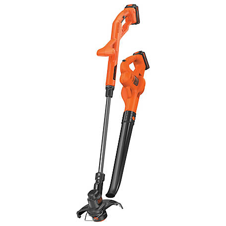 Black & Decker 20V String/Sweep 2 Batt Combo, LCC222