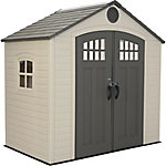 Lifetime 8 ft. x 5 ft. Outdoor Storage Shed with Window