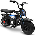 Monster Moto Blue and Black Electric Mini Bike, 1000W