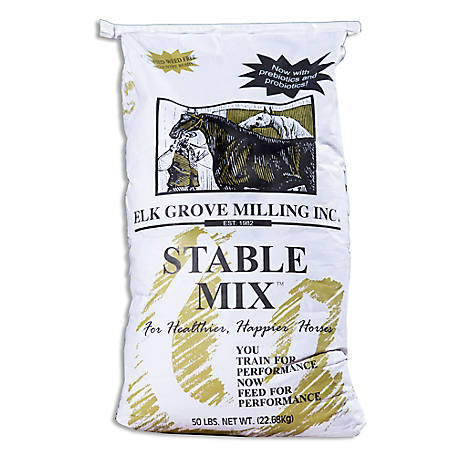Elk Grove Milling Stable Mix Horse Feed, 36 in. x 16 in. x 4 in.