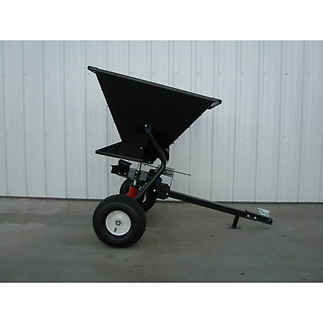 Field Tuff 350 lb. Tow-Behind Broadcast Spreader