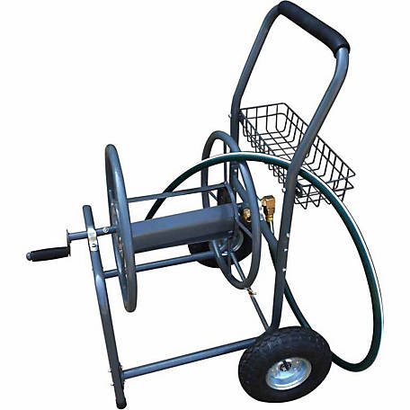 Yard Tuff Hose Reel Cart, 260 ft. Capacity