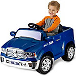KidTrax Dodge 6V Dodge RAM 1500 Ride-on Truck, Blue
