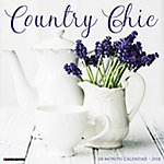 Willow Creek Press 2018 Country Chic Wall Calendar
