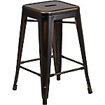 51 in. High Backless Indoor/Outdoor Counter Height Stool