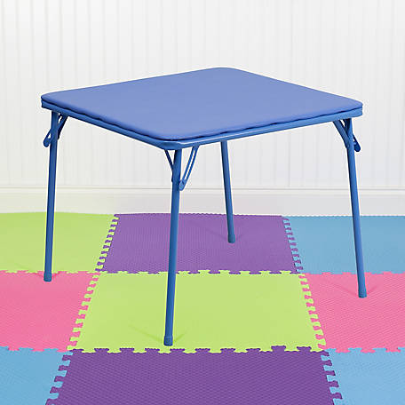 Kid's Blue Folding Table