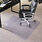45 in. x 53 in. Big & Tall 400 lb. Capacity Carpet Chair Mat with Lip