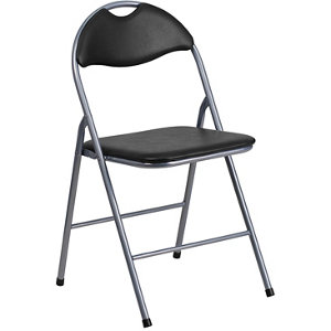 HERCULES Series Vinyl Metal Folding Chair With Carrying Handle At Tractor  Supply Co.