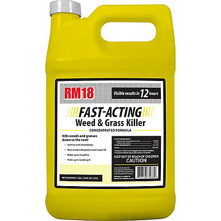 Ragan & Massey RM18 Fast-Acting Grass & Weed Killer with Diquat 1 gal., 75436