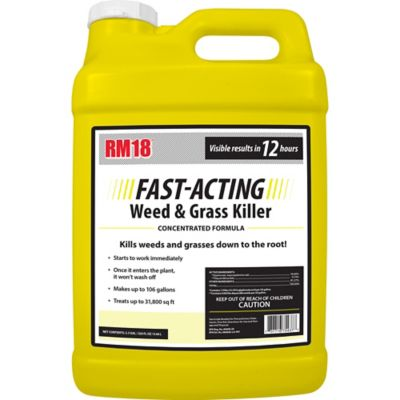 Ragan & Massey RM18 Fast-Acting Grass & Weed Killer with Diquat 2 5 gal ,  75437 at Tractor Supply Co