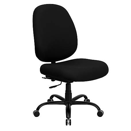 HERCULES Series Big & Tall 400 lb. Rated Black Executive Swivel Chair