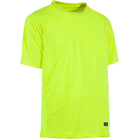 C.E. Schmidt Men's Enhanced Visibility Performance Short Sleeve T-Shirt