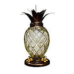 Royal Wing Glass Pineapple Hummingbird Feeder