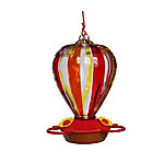 Royal Wing Classic Glass Balloon Hummingbird Feeder