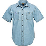 C.E. Schmidt Men's Short Sleeve Denim Workshirt
