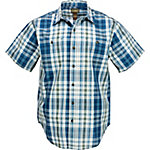 C.E. Schmidt Men's Short Sleeve Corded Plaid Shirt