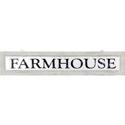 Red Shed Farmhouse Window Sign
