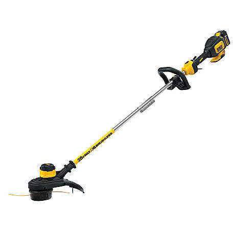 DeWALT 20V MAX* 5.0Ah Lithium-Ion XR Brushless 13 in. String Trimmer