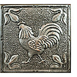 Red Shed Metal Ceiling Tiles, Rooster
