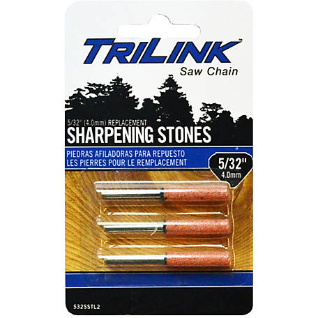 TriLink Saw Chain 5/32 in. Sharpening Stone, Pack of 3