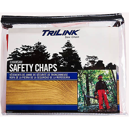 TriLink Saw Chain Chainsaw UL Certified Safety Chaps