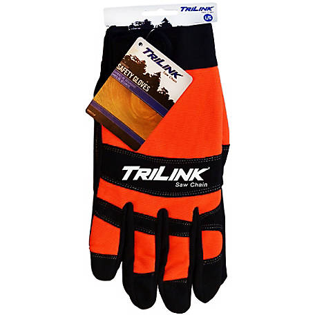 TriLink Saw Chain Chainsaw Safety Gloves