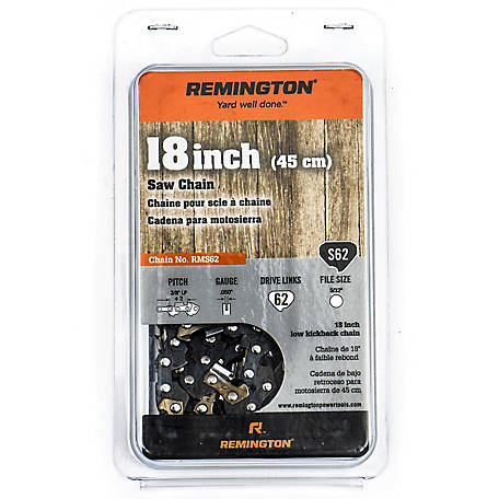 Remington Chainsaw 18 in. Saw Chain