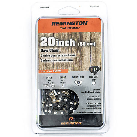 Remington Chainsaw 20 in. Saw Chain, 490-700-R079