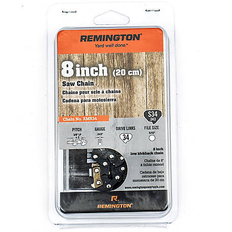 Remington Chainsaw 8 in. Saw Chain