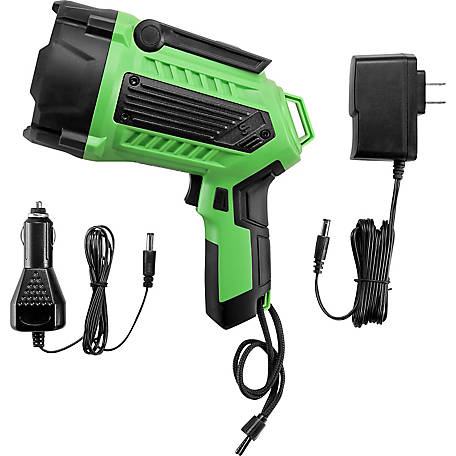 JobSmart 1500 Lumen Spotlight with Green Laser