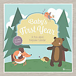 TF Publishing Baby's First Year Woodland Non-Dated Wall Calendar