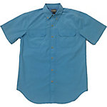 C.E. Schmidt Men's Short Sleeve Solid Fishing Shirt