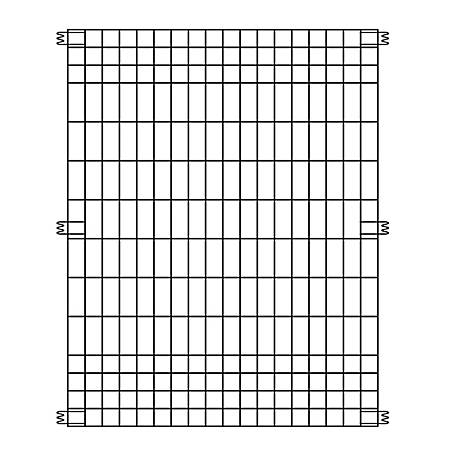 Garden Zone 44 in. H x 3 ft. W Multi Purpose Fence Panel, 795010