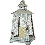 Red Shed LED Chicken Wire Lantern, Large